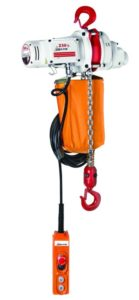 Manuel-, electrical- & pneumatic hoists
