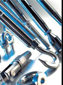 Rustfri stål tilbehør Produkt oversigt